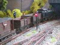 A Jinty heads into the Upton tunnel.  [Wagons011.jpg uploaded 24 Jul 2009]