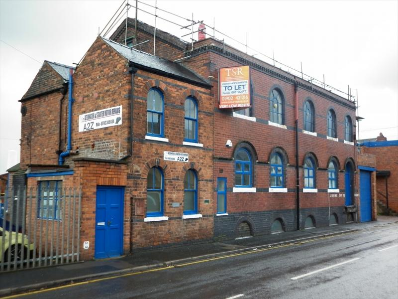industrial buildings wolverhampton - commercial buildings