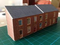 Low relief Terraced houses ....first attempt  [IMG_1006.jpg uploaded 13 Sep 2015]