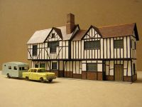 The original 1960s Superquick Elizabethan Cottages, View 1  [Superquick Elizabethan Cottages Front.JPG uploaded 8 Feb 2018]