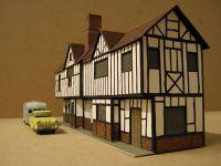 The original 1960s Superquick Elizabethan Cottages, View 2  [Superquick Elizabethan Cottages Side.JPG uploaded 8 Feb 2018]