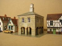 Superquick Market House B35 – The completed kit view 2   [P1223561.JPG uploaded 22 Jan 2019]