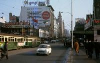 Young & Jackson, Melbourne, 1963 (Peter Moses, Melbourne Tram Museum)   [wct 210413.jpg uploaded 12 Apr 2021]
