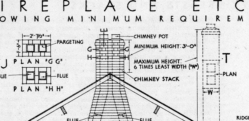 chimney proportions  - roofs  u0026 chimneys