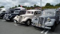 Citroen |Traction Avant| alley with several examples of their B11 and B15   [BC9.JPG uploaded 9 Jul 2017]