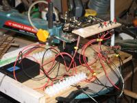On my Bench , testing a CDU I just made to 2 peco solenoids  [DSCF1546.JPG uploaded 1 Jul 2012]