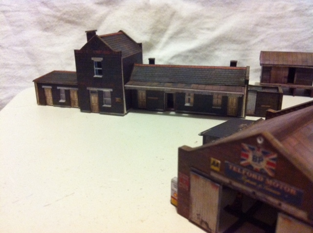 My N Gauge Attempts So Far Scalescenes Building Kits