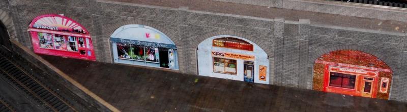 Model railway shops central london zone